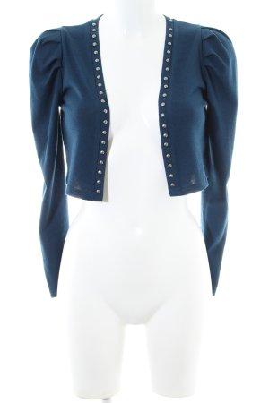 Mina UK Bolero blau Casual-Look