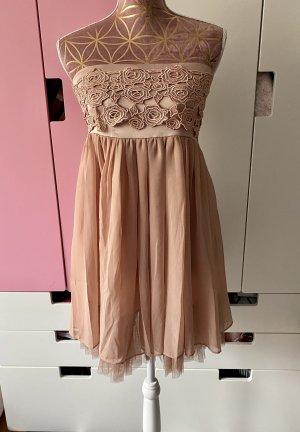 Mina UK Kleid nudefarben Größe M