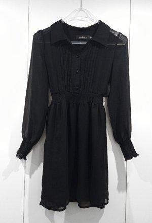 Mina UK Blouse Dress black