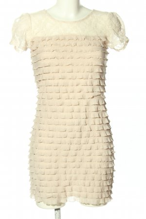 Mina UK Robe en dentelle crème élégant