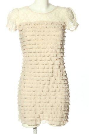 Mina UK Spitzenkleid creme Elegant