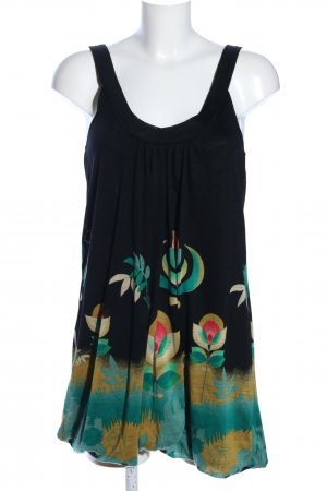 Mina UK Trägerkleid abstraktes Muster Casual-Look