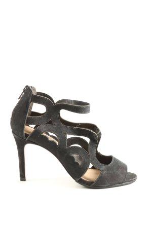 minelli High Heels schwarz Casual-Look