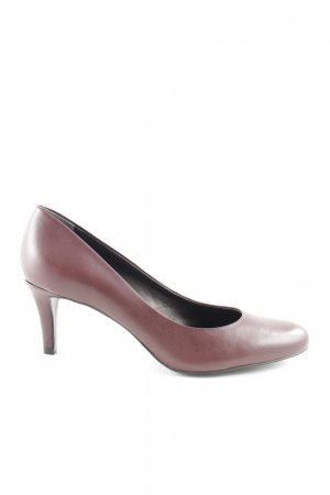 minelli High Heels braun Business-Look