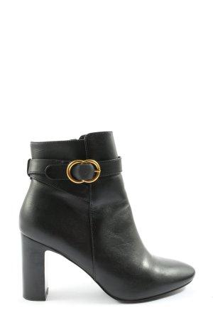 minelli Reißverschluss-Stiefeletten schwarz Casual-Look