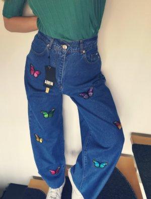Asos Culottes blue cotton