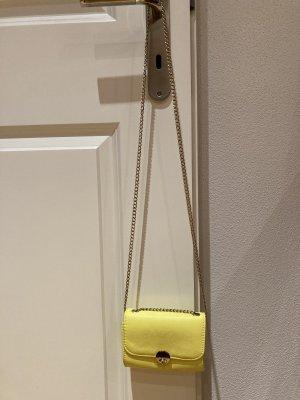 Mini Bag neongelb H&M