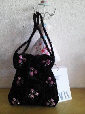 mini Beuteltasche mit Schmuckperlen, Campaing Collection, neu