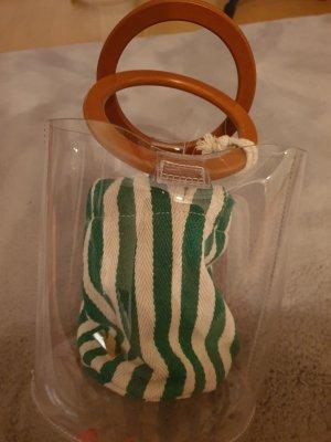 Bessie London Borsetta mini bianco-verde bosco