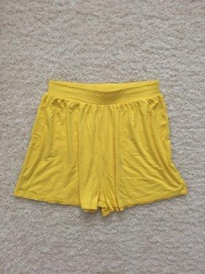 Asos Petite High-Waist-Shorts yellow-neon yellow