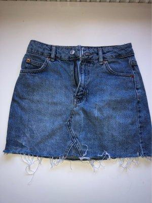 Mini Jeans Rock