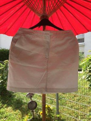 Mini Jeans Rock in weiß, neuwertig, 15€