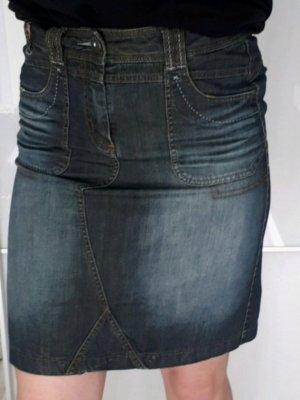 Cecil Denim Skirt multicolored
