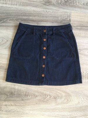 Esprit Gonna di jeans blu scuro