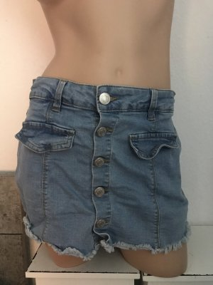 FB Sister Falda pantalón azul aciano
