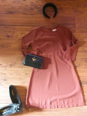 Abercrombie & Fitch Mini-jurk roodbruin Katoen