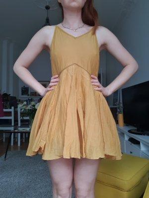 Mini Kleid aus Seide