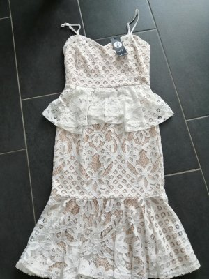 Mini Kleid aus Spitze