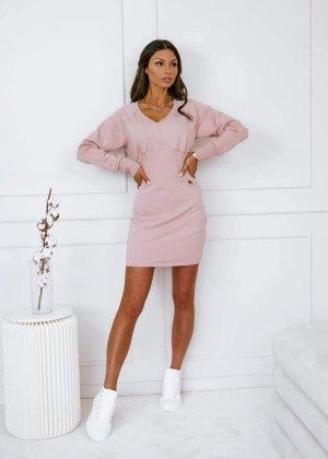 COLORI Mini Dress dusky pink-pink