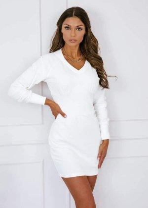 COLORI Mini Dress white