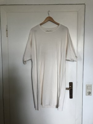COS Robe t-shirt blanc cassé