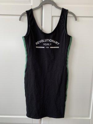 Mini Kleid enganliegend bodycon schwarz grün TallyWeijl S M L 34 36 38