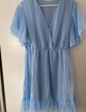SheIn Sukienka mini błękitny
