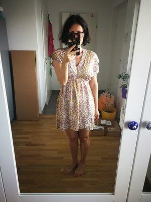 Mini Kleid mit Blumenprint