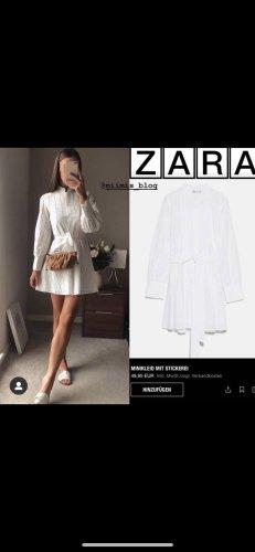 Zara Longsleeve Dress white-natural white