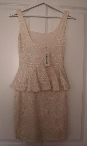 Mini Kleid mit Volant