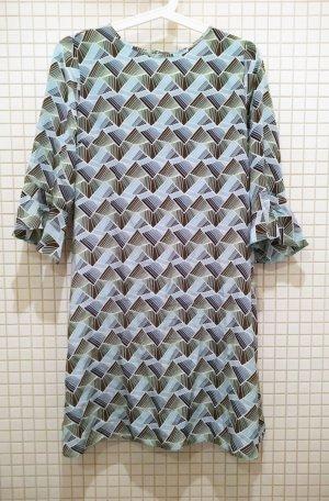 Mini - Kleid , Seide