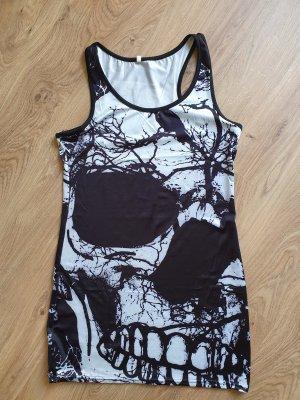 Mini Kleid Skull Raven Gr. M / 38