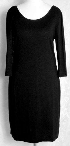 Mini Kleid Stretch Schwarz Gr. 36/38