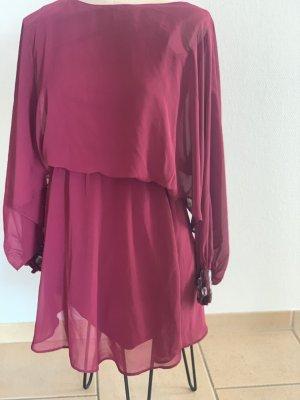 Asos Robe de bal bordeau-rouge mûre