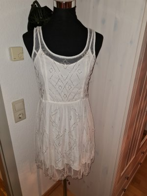 Abercrombie & Fitch A Line Dress white