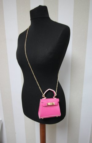 Mini sac doré-rose