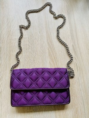 Marc Jacobs Pochette dark violet-silver-colored