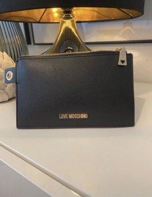 Love Moschino Enveloptas zwart-rood