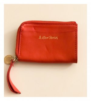 & other stories Wallet orange-gold-colored