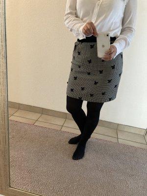 bardehle Mini rok zwart-wit