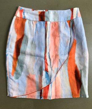 Boss Orange Mini rok veelkleurig Zijde