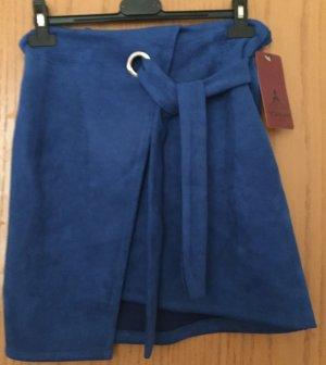 Cristina Miniskirt dark blue polyacrylic