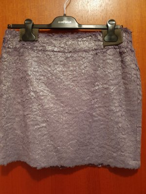 Airfield Miniskirt silver-colored