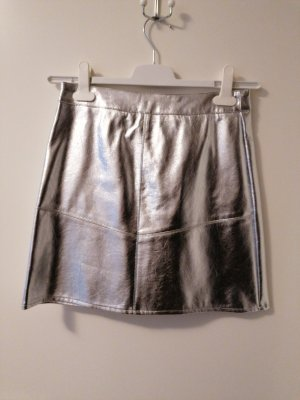 Amisu Mini-jupe argenté