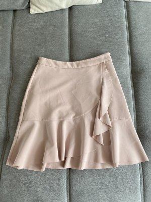Mini Rüschenrock rosa Neuwertig Gr 36