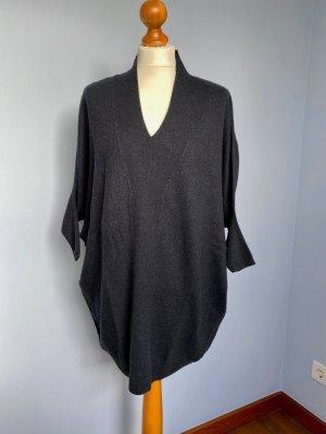All Saints Gebreide jurk donkerblauw-zwart
