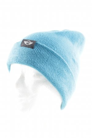 Mini Knitted Hat blue casual look