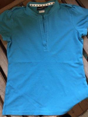 Mini T-shirt bleu-turquoise