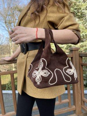 Mini Tasche aus Leder