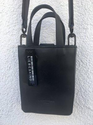 Mini-Tasche: Paper back XS von Liebeskind in schwarz